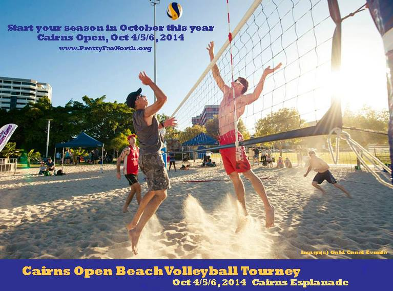 Cairns Beach Volleyball Cairns Open Beach Volleyball